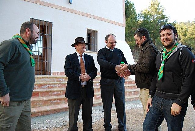 El Grupo Scout de Alhama de Murcia vuelve a disponer de la Casa Leyva para sus actividades, Foto 1