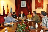 El Ayuntamiento acuerda varios convenios con la Agrupación Musical Muleña