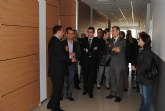 El delegado del Gobierno y el alcalde de Torre Pacheco inauguran el Centro Multiusos de El Jimenado y el nuevo césped del campo de fútbol de Roldán
