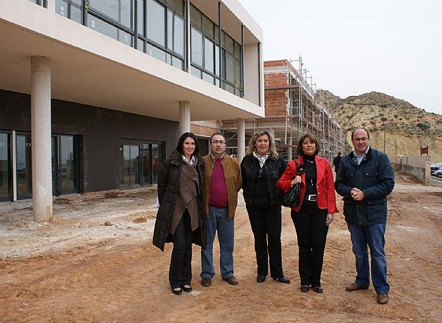 El Alcalde y la directora general de Centros visitan las obras del nuevo colegio Sagrado Corazón - 2, Foto 2