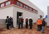 El Alcalde y la directora general de Centros visitan las obras del nuevo colegio Sagrado Corazón