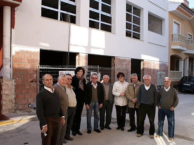 El Ayuntamiento finalizará  las obras del nuevo Centro de la Tercera Edad 'Vicente Ruiz Llamas' antes de verano - 1, Foto 1