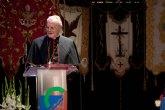 El Cardenal y Arzobispo Emérito de Sevilla, el Franciscano D. Carlos Amigo Vallejo, pregonó la Semana Santa de Alcantarilla