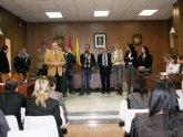 Recepción oficial en Archena a los estudiantes y profesores europeos del Programa Comenius-Las Migraciones procedentes de cuatro países