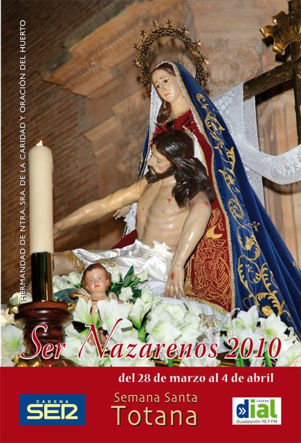 Todos los totaneros y visitantes ya pueden recoger su agenda Ser Nazarenos Totana 2010, Foto 1