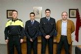 Toma de posesión de dos nuevos agentes de Policía Local en Fortuna