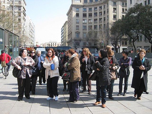 """El pasado fin de semana 24 mujeres alhameñas se embarcaban en un viaje a Barcelona por la """"Ruta de las Donas"""", Foto 2"""