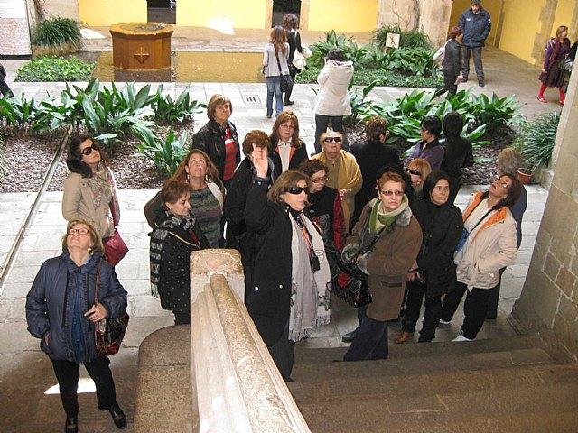 """El pasado fin de semana 24 mujeres alhameñas se embarcaban en un viaje a Barcelona por la """"Ruta de las Donas"""", Foto 3"""