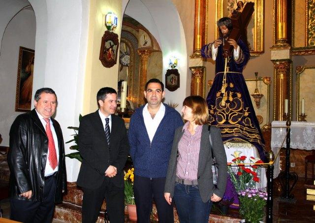 Cultura entrega el Nazareno de Albudeite restaurado tras seis meses de trabajo - 1, Foto 1