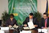 El alcalde de Totana firma en Madrid el convenio para la realización del proyecto que ganó el premio nacional de biodiversidad