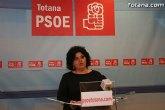 Rueda de prensa del PSOE. Valoración del Pleno de Marzo