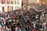 La tamborada infantil marca el inicio de las fiestas de Semana Santa en Mula