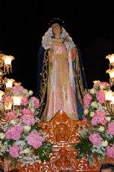 El blanco y el azul inundaron el Viernes de Dolores de Las Torres de Cotillas