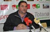 IU tacha de 'milongas los anuncios del Alcalde de Totana sobre bajadas de sueldos o recorte de gastos'