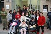 Diego Martín visitó el local social de la asociación