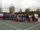 Comienzan las I jornadas escolares de tenis en el Club de Tenis Totana