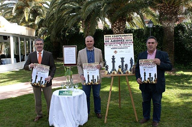 Puerto Lumbreras acogerá  el XXV Campeonato Regional Absoluto Individual de Ajedrez - 1, Foto 1