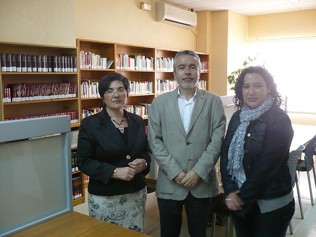 Cultura mejora la Biblioteca de Pliego con una inversión de 70.000 euros - 1, Foto 1