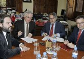 Caja Mediterráneo firma con la Universidad de Murcia su aportación económica para 2010