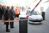 El delegado del Gobierno y el alcalde de Abarán inauguran el nuevo aparcamiento subterráneo