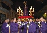 El encuentro entre el Jesús Cautivo y Nuestra Señora de la Esperanza protagonizó  el Martes Santo torreño