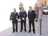 Agentes de la policía local de Blanca rescatan a dos senderistas