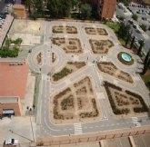 80 jóvenes visitan el Parque de Educación Vial el lunes y martes santo