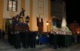 El Nazareno protagonizó la noche de Miércoles Santo en Puerto Lumbreras con una Procesión cargada de emoción
