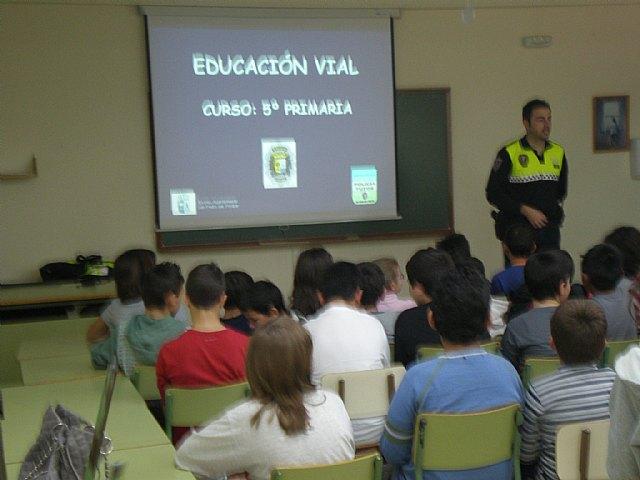 La Unidad de Policía Tutor participa activamente en la Educación vial en todos los centros públicos del municipio - 2, Foto 2