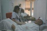 Los trabajadores de ELPOZO ALIMENTACI�N , solidarios con la sociedad donando sangre