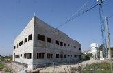 Avanzan las obras del nuevo Centro de Estancias Diurnas para personas discapacitadas de Puerto Lumbreras