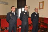 Toma de posesión de tres nuevos Cabos en el Cuerpo de la Policía Local de Mula