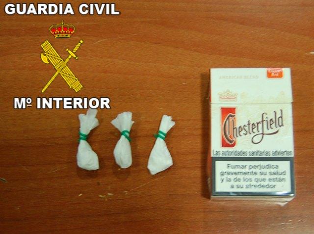 La Guardia Civil ha desmantelado dos puntos de venta de droga al menudeo en Mazarrón, Foto 2