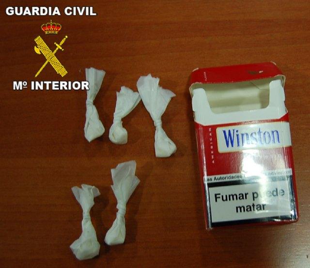 La Guardia Civil ha desmantelado dos puntos de venta de droga al menudeo en Mazarrón, Foto 3