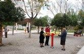 El Ayuntamiento de Puerto Lumbreras habilita un espacio destinado a gerontogimnasia en el Parque San Rafael