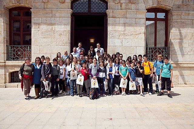 Recepción de cuarenta estudiantes franceses, Foto 1