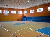 Importantes mejoras en el pabellón del polideportivo municipal de La Unión