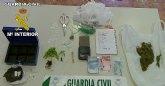 La Guardia Civil desmantela un punto de producción y distribución de cocaína en la Vega Media