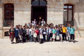 Recepci�n de cuarenta estudiantes franceses
