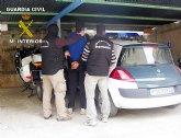 La Guardia Civil desmantela una red delictiva que regentaba tres puntos de distribución de droga en la Vega Alta