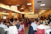 La Asociación de Enfermos de Alzheimer de Puerto Lumbreras congrega a más de 300 personas en su comida benéfica