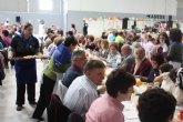 Más de 2.000 personas Celebran la X Paella Solidaria de Manos Unidas en Torre-Pacheco