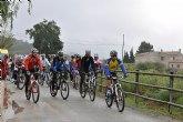 Cerca de 50 personas participan en la Ruta en bicicleta hasta Caravaca por la Vía Verde