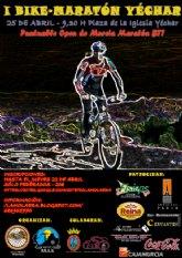 Yéchar acoge el I Bike Maratón, prueba que será puntuable para el Open de Murcia Maratón BTT