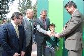El delegado del Gobierno y el alcalde de Cieza inauguran el nuevo parque Infantil de Tráfico realizado con fondos del Plan E