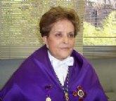 María Cascales recibe el viernes el Título de Hija Predilecta
