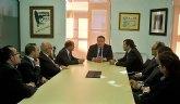 El Alcalde se entrevista con la nueva junta directiva de la Cámara de Comercio de Cartagena