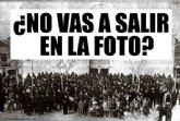 Los vecinos de San Javier se hacen una foto colectiva setenta y siete  años después