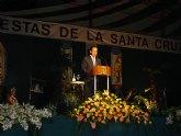 El Alcalde Cámara rememora la historia de la Santa Cuz y los desfiles de Moros y Cistianos en el Pregón de Fiestas de Abanilla