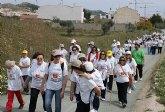Cerca de 200 lumbrerenses participan en la II Marcha Solidaria de ADICA